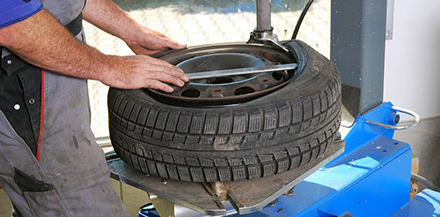 Tire replacement services in Syracuse